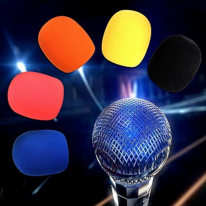 Foto Produk Busa mic microphone mikrofon mikropon tebal - Sponge busa mic mikrofon dari EtalaseBelanja