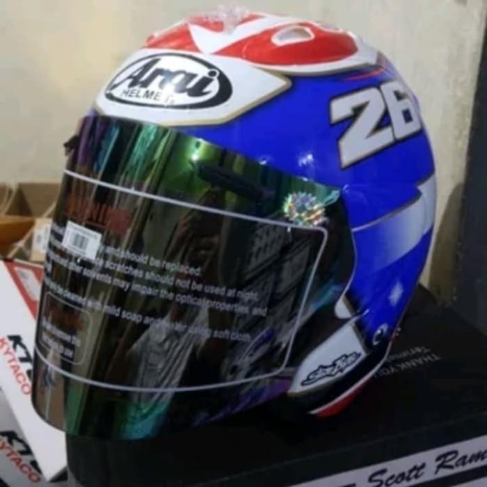 Jual Helm Scoot Ram 4 Copy Arai Tsr Half Face Kab Bandung Barat Anugrah Racing Tokopedia