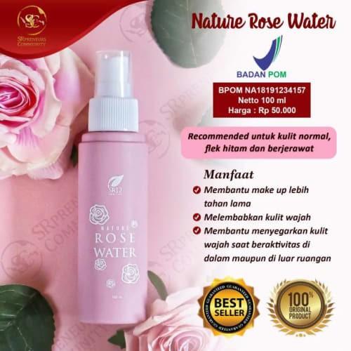 Jual Limited Nature Rose Water Face Mist Air Mawar Make Up Tahan Jakarta Barat Jackielee Tokopedia