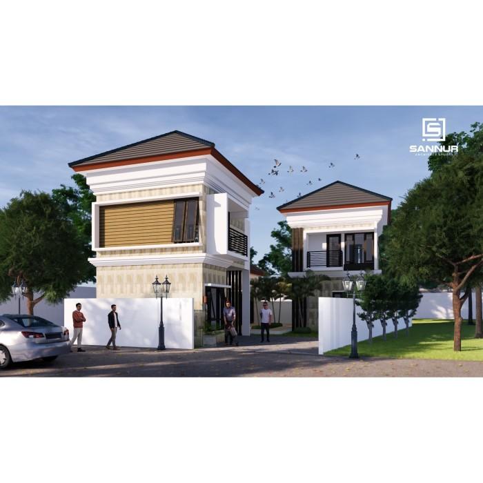 Foto Produk Produk Jadi Desain Rumah minimalis 2 lantai ukuran 15x20 meter dari Sannur Arsitek