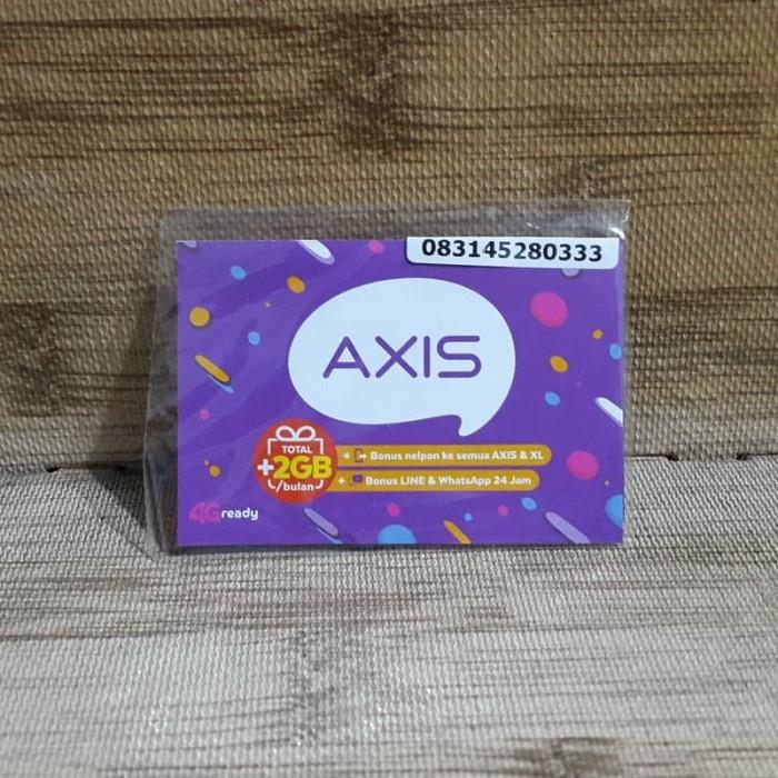 Foto Produk Nomor Cantik Axis 45 280 333 Kartu Perdana Axis 4G Ready 30 Nov 2020 dari idStoreplus