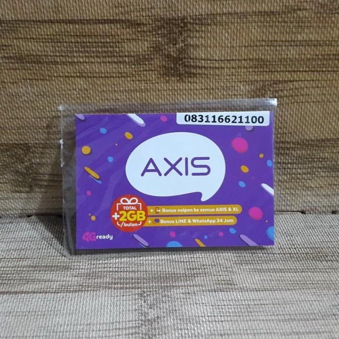 Foto Produk Nomor Cantik Axis 1662 1100 Kartu Perdana Axis 4G Ready 30 Nov 2020 dari idStoreplus