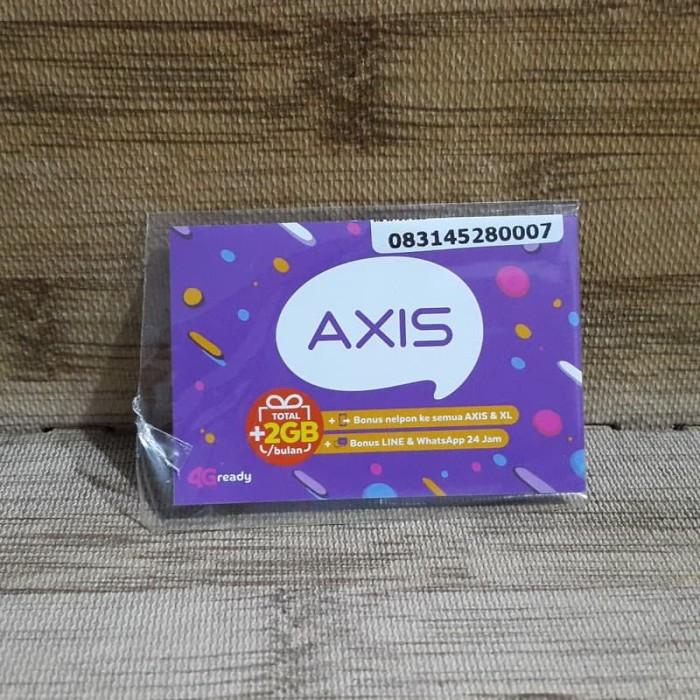 Foto Produk Nomor Cantik Axis 4528 0007 Kartu Perdana Axis 4G Ready 30 Nov 2020 dari idStoreplus
