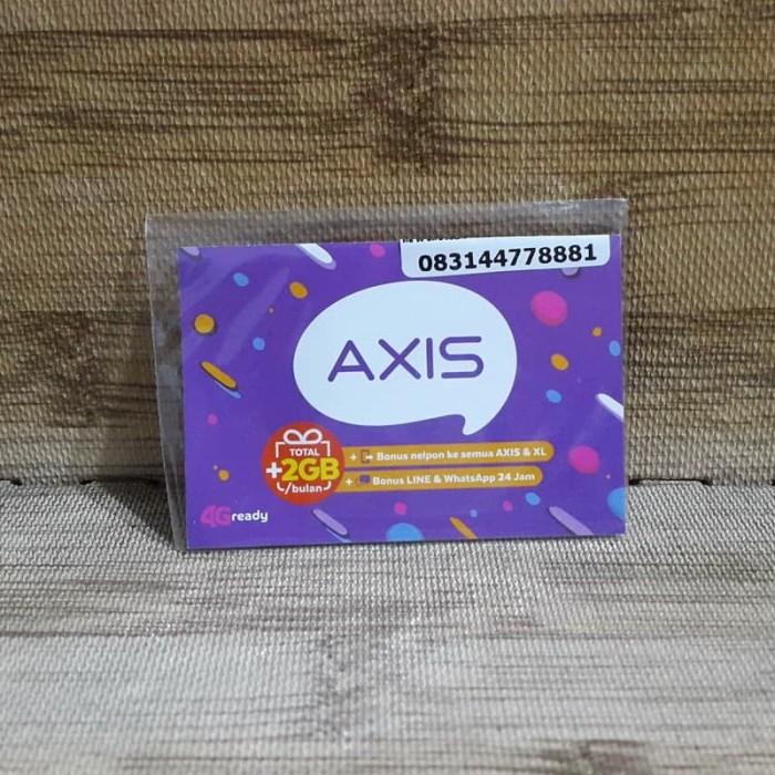 Foto Produk Nomor Cantik Axis 4477 8881 Kartu Perdana Axis 4G Ready 30 Nov 2020 dari idStoreplus