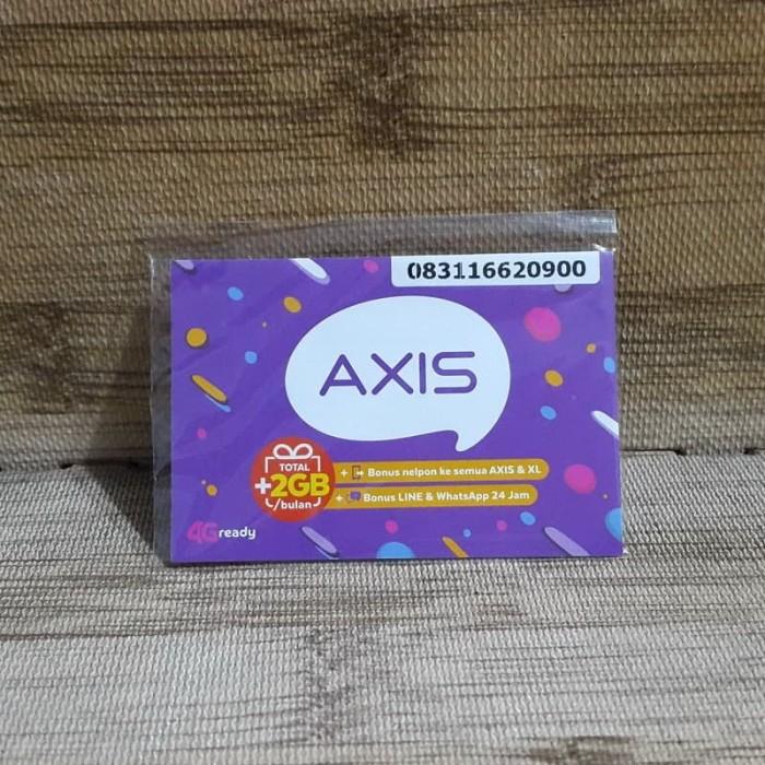 Foto Produk Nomor Cantik Axis 1662 0900 Kartu Perdana Axis 4G Ready 30 Nov 2020 dari idStoreplus