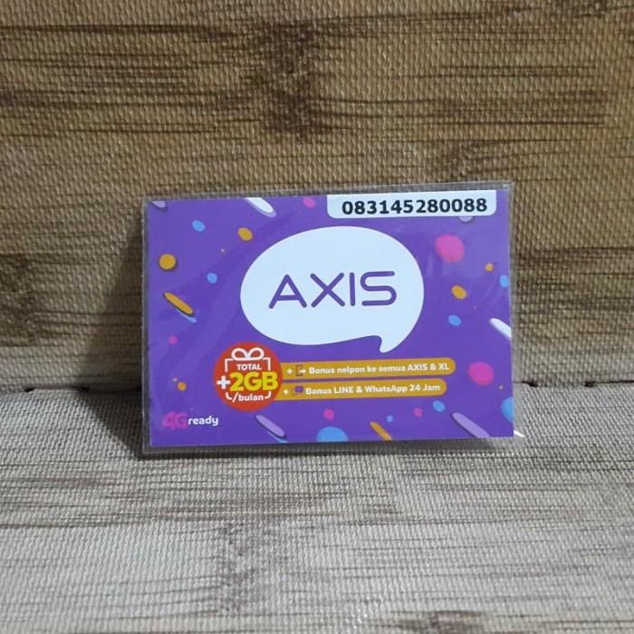 Foto Produk Nomor Cantik Axis 4528 0088 Kartu Perdana Axis 4G Ready 30 Nov 2020 dari idStoreplus
