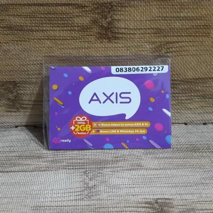 Foto Produk Nomor Cantik Axis 0629 2227 Kartu Perdana Axis 4G Ready 30 Nov 2020 dari idStoreplus