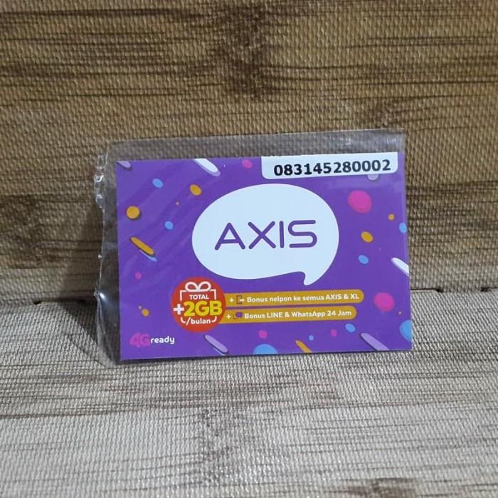 Foto Produk Nomor Cantik Axis 4528 0002 Kartu Perdana Axis 4G Ready 30 Nov 2020 dari idStoreplus