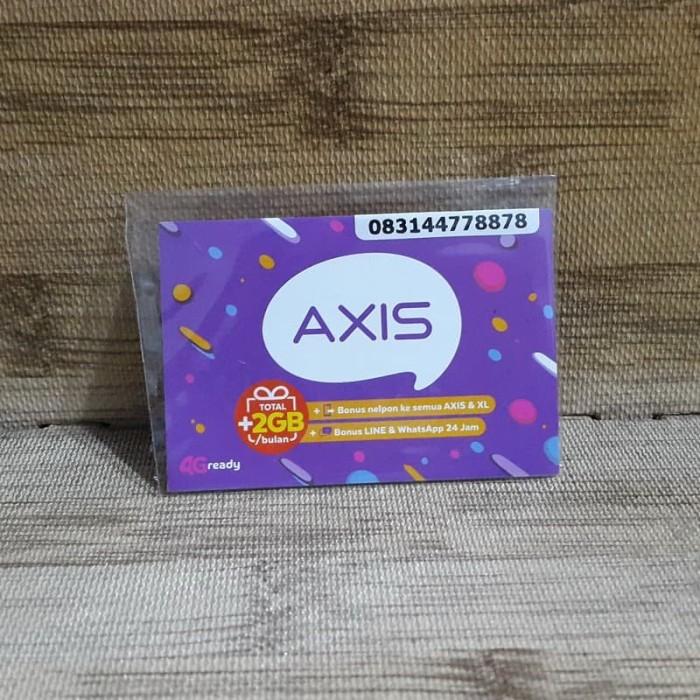 Foto Produk Nomor Cantik Axis 4477 8878 Kartu Perdana Axis 4G Ready 30 Nov 2020 dari idStoreplus