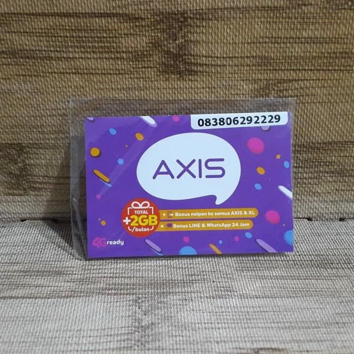 Foto Produk Nomor Cantik Axis 0629 2229 Kartu Perdana Axis 4G Ready 30 Nov 2020 dari idStoreplus