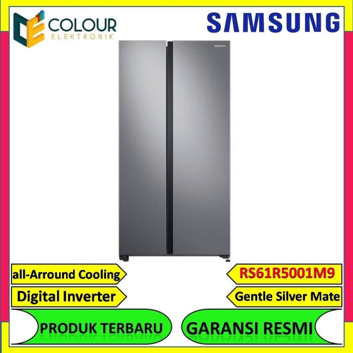Jual Samsung Rs61r5001m9  Se Kulkas Side By Side Digital