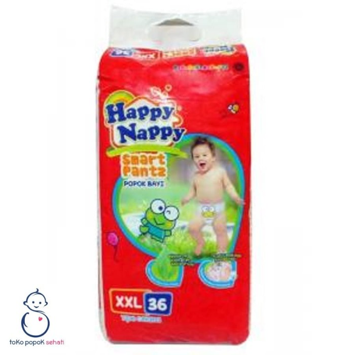 Foto Produk HAPPY NAPPY XXL36 Popok Celana XXL36 XXL 36 dari TOKO POPOK SEHATI
