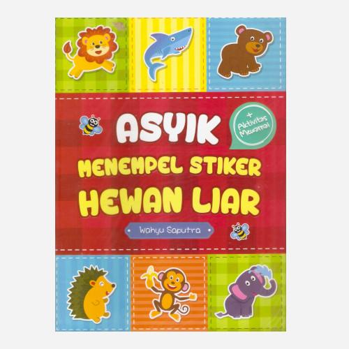 Foto Produk Asyik Menempel Stiker Hewan Liar dari Toko Kutu Buku
