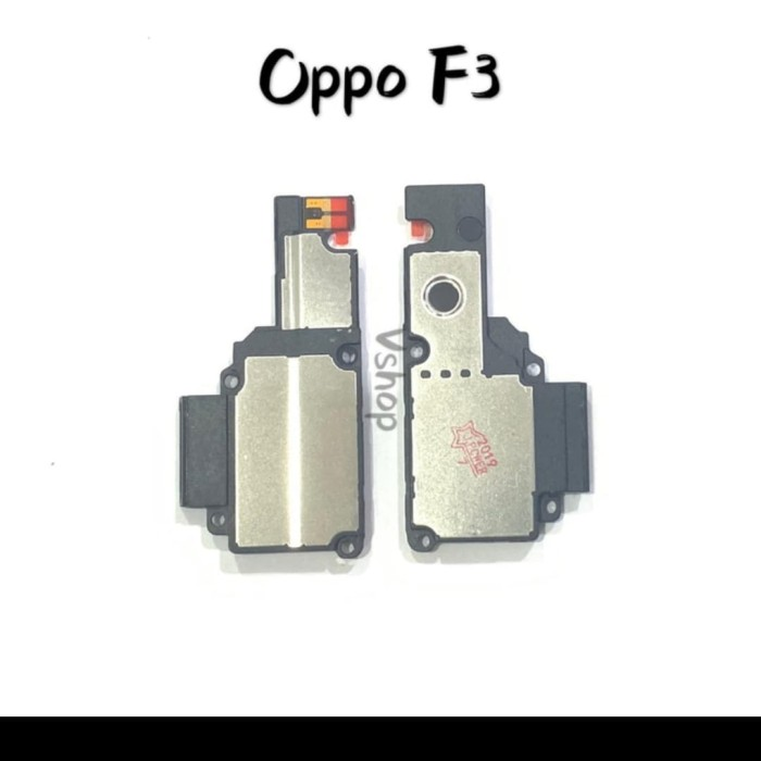 Foto Produk buzzer speker oppo f3 BOX ORI COMPLETE dari techno phone cikarang