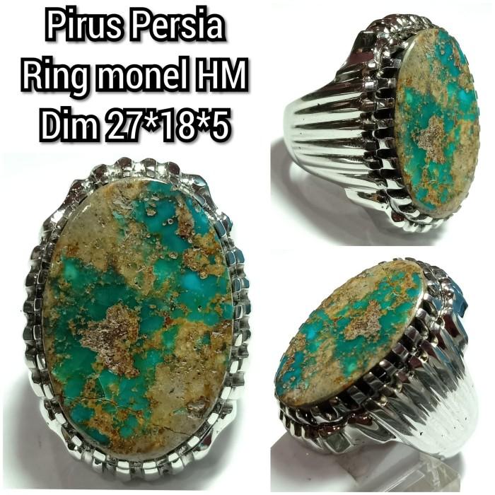 Foto Produk cincin batu pirus Persia naizabur 028 dari arjuna gemstune