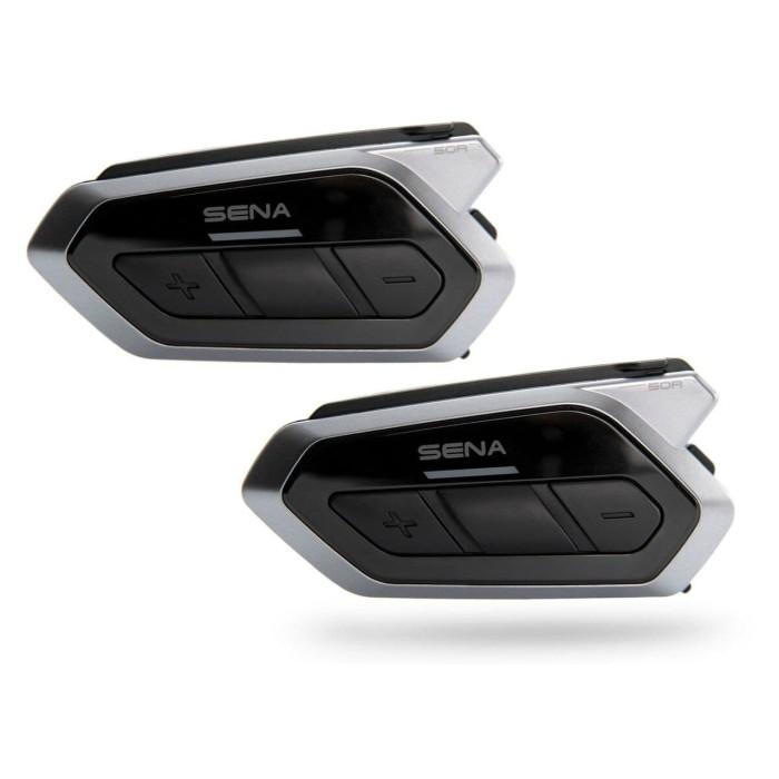 Foto Produk SENA 50R DUAL Pack Intercom/Bluetooth Communication untuk HELM dari Juragan Helm ID