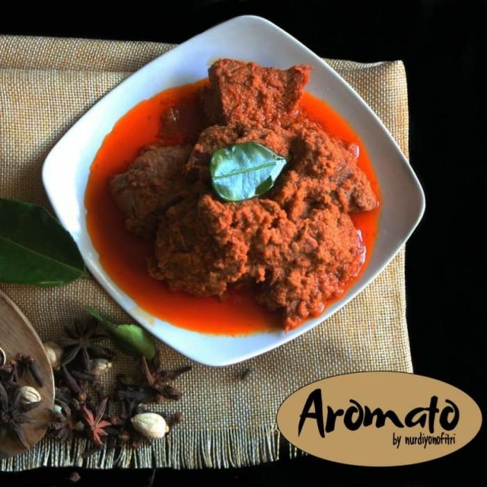 Foto Produk Rendang Daging Sapi ukuran 1/2 kg dari Gerai Aromato