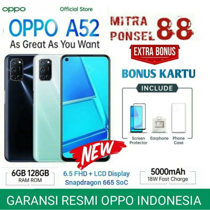 Foto Produk OPPO A52 RAM 6/128 GARANSI RESMI OPPO INDONESIA - Demo Tanpa Dus dari Mitra Ponsel 88