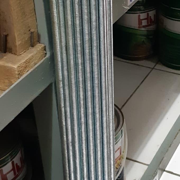 Foto Produk Longdrat Long Drat AS Drat 12mm M12 1m Link khusus grab gosend dari toko Bangunan Makmur