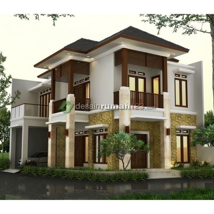 Jual Desain Rumah Hook 10 X 15 M2 2 Lantai Dr 1007 Jakarta Timur Alamanda59 Tokopedia