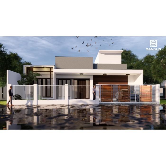 Foto Produk Produk Jadi Desain Rumah minimalis 2 lantai ukuran 15x15 meter dari Sannur Arsitek