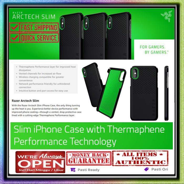 Foto Produk iPhone XS MAX / XR / XS / X Case RAZER ARCTECH SLIM (ORIGINAL) - Matte Black, iPhone XS Max dari Spigen Indonesia