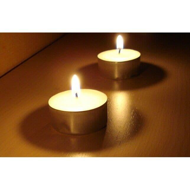 Foto Produk Tealight Candle / Lilin aromaterapii / lilin kecil - 6 lilin dari Karuna Holistic Wellness