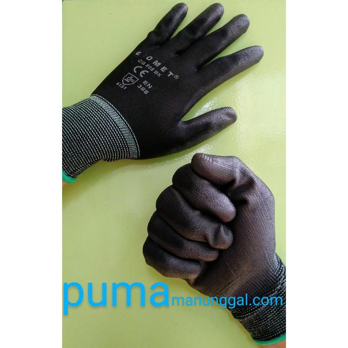Foto Produk Sarung Tangan Karet Palm Fit Glove CG 805 BK - Size M dari Putra Utama Manunggal