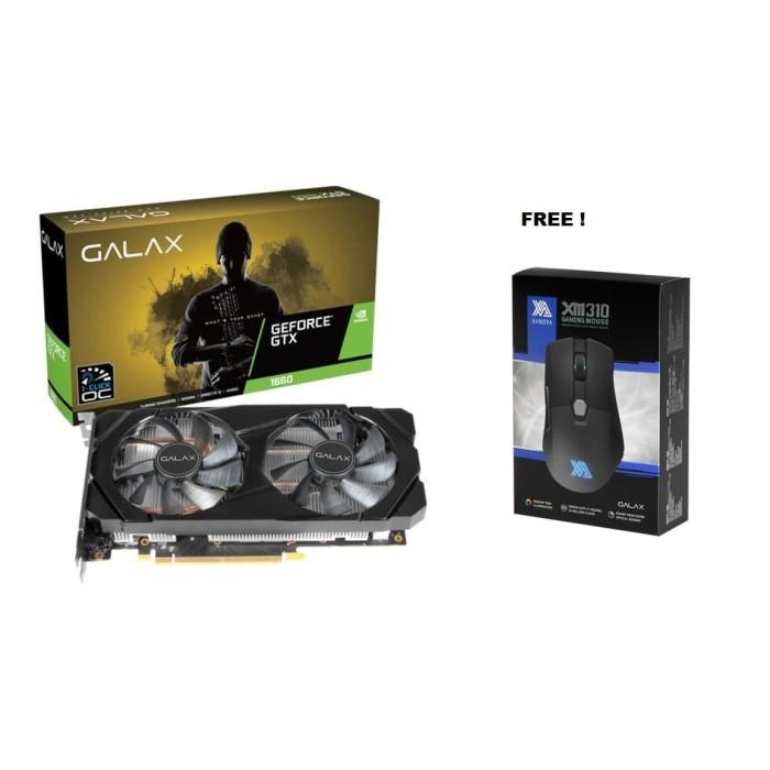 Foto Produk PROMO GALAX Geforce GTX 1660 6GB DDR5 - DUAL FAN dari Flazz Computer Pekanbaru
