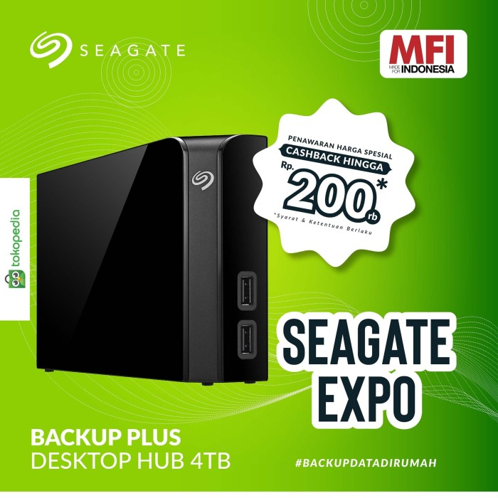 Foto Produk EXTERNAL HD SEAGATE BACKUP PLUS DEKSTOP 4TB HUB USB dari IT-SHOP-ONLINE