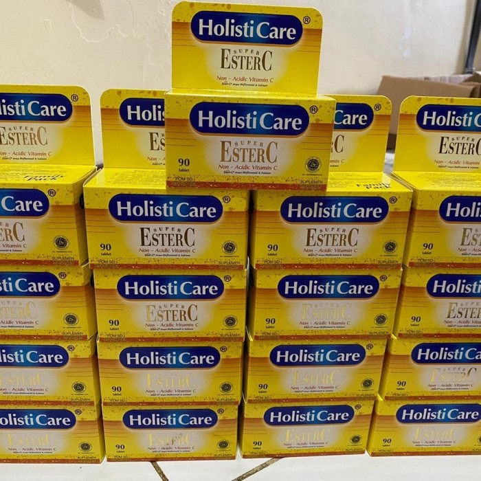 Foto Produk ester-c-vitamin holisticare isi 90 ready dari Maria_Cz