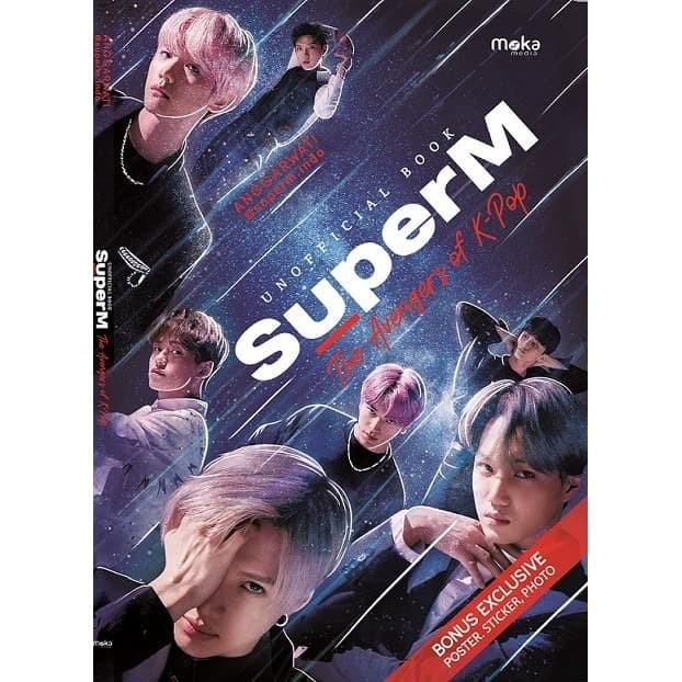 Foto Produk SuperM: The Avengers Of K-Pop - Anggarwati - Moka Media dari Republik Fiksi