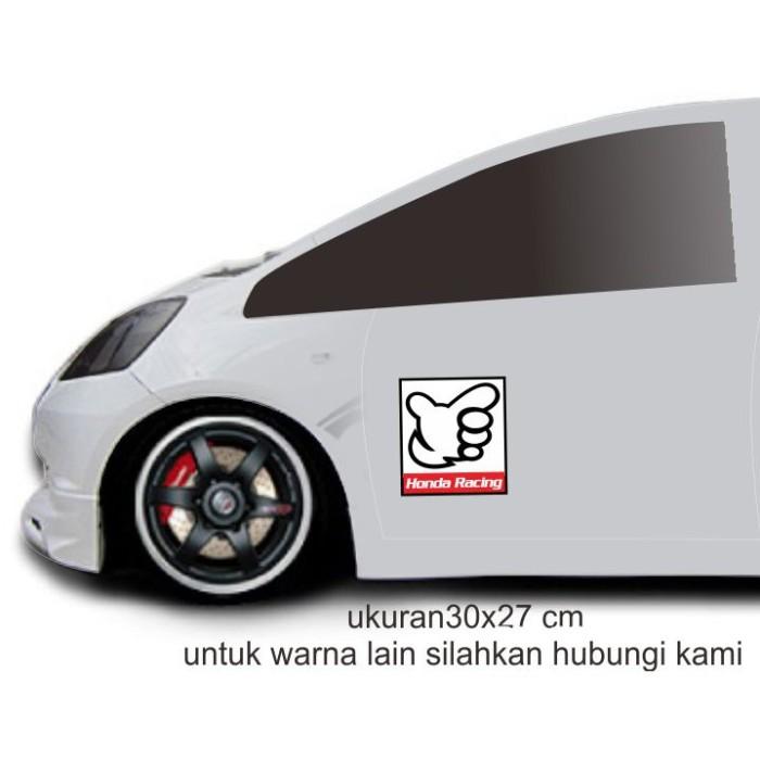 Jual Sticker Cutting Honda Racing Sticker Mobil Set Pintu Honda Racing 04 Jakarta Barat Budihartono128 Tokopedia