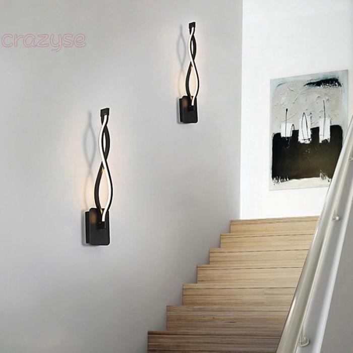 Jual Wall Lamps Led Home Mounted Black Light Torch Living Room Bedrooms Kab Malang Vania Collection53 Tokopedia