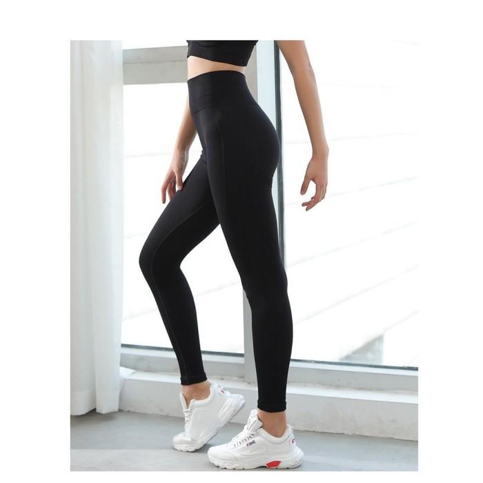 Jual Pro Gym Wear Leggings Sport Legging Celana Legging C048 S M L Jakarta Barat Royal Gold Tokopedia