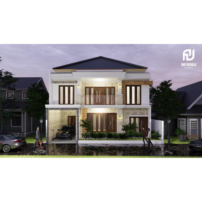 Jual Produk Jadi Desain Rumah Minimalis 2 Lantai Ukuran 12 X 13 Meter -  Kab. Kediri - Sannur Arsitek | Tokopedia