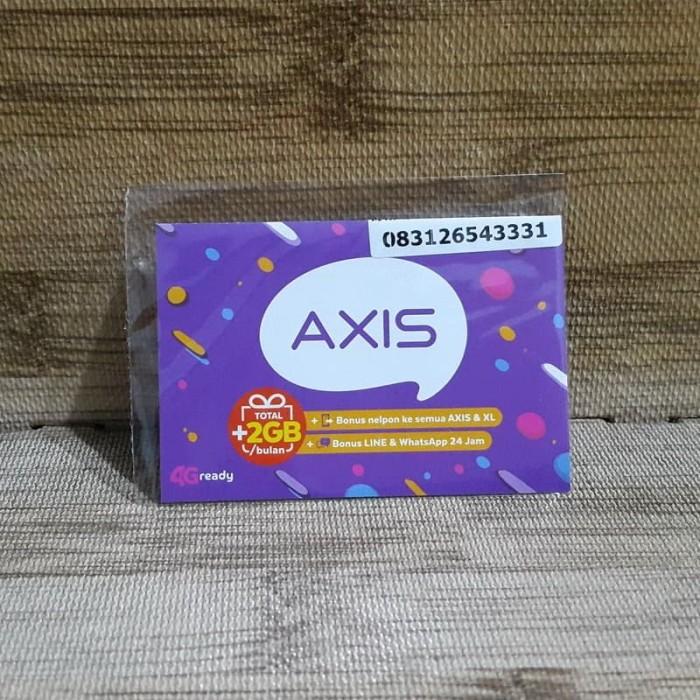 Foto Produk Nomor Cantik Axis 2654 3331 Kartu Perdana Axis 4G Ready 30 Nov 2020 dari idStoreplus