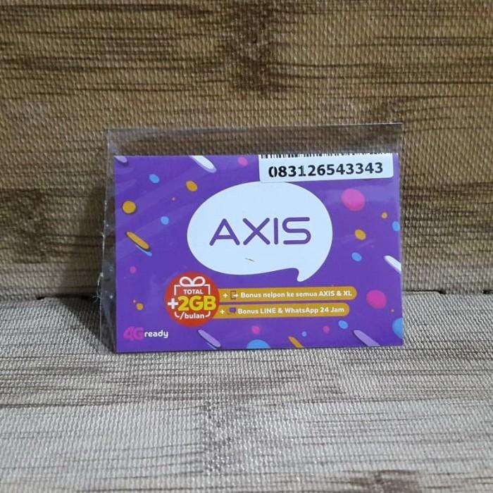Foto Produk Nomor Cantik Axis 265 433 43 Kartu Perdana Axis 4G Ready 30 Nov 2020 dari idStoreplus