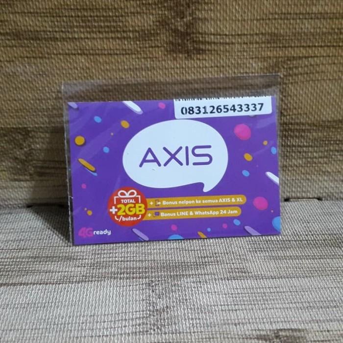 Foto Produk Nomor Cantik Axis 2654 3337 Kartu Perdana Axis 4G Ready 30 Nov 2020 dari idStoreplus