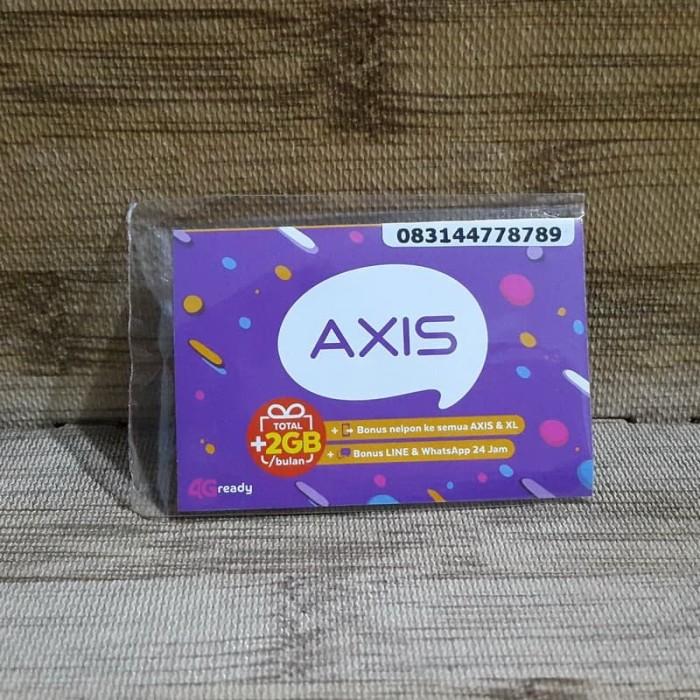 Foto Produk Nomor Cantik Axis 44 778 789 Kartu Perdana Axis 4G Ready 30 Nov 2020 dari idStoreplus