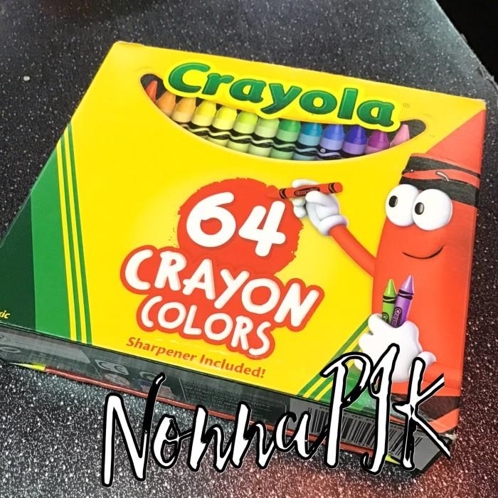 Jual Crayola 64 Crayon Colors Perlengkapan Alat Mewarnai Menggambar Jakarta Utara Nonnapik Tokopedia