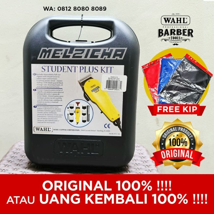 Foto Produk Clipper Wahl student kit plus ORIGINAL !!! mirip pro basic super taper dari Melzicha