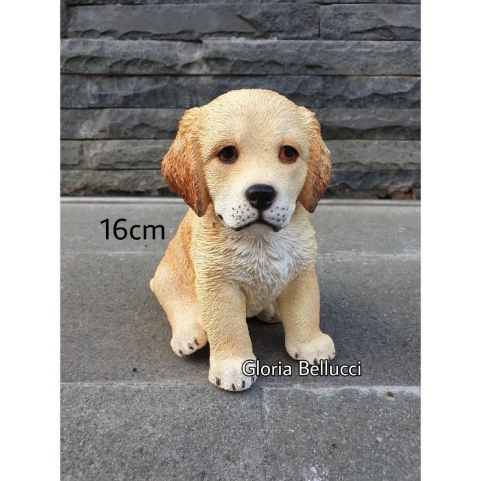 Jual Patung Pajangan Miniatur Anjing Golden Retriever Duduk Besar Doggy Jakarta Utara Gloria Bellucci Tokopedia