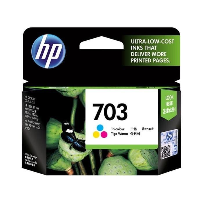 Foto Produk Cartidge HP 703 Color HP703 Color dari PojokITcom Pusat IT Comp
