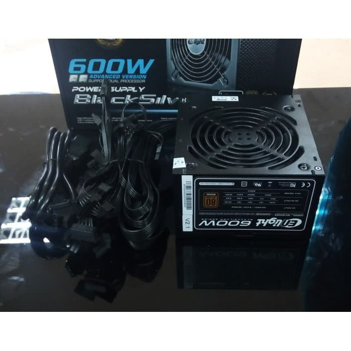 Foto Produk Power Supply ENLIGHT 600WATT 80+ BRONZE dari PojokITcom Pusat IT Comp