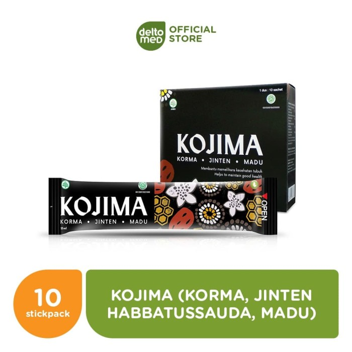 Foto Produk KOJIMA SACHET,STICKPACK, Korma, Jinten, Madu, Minuman Penambah Nutrisi dari Deltomed Store