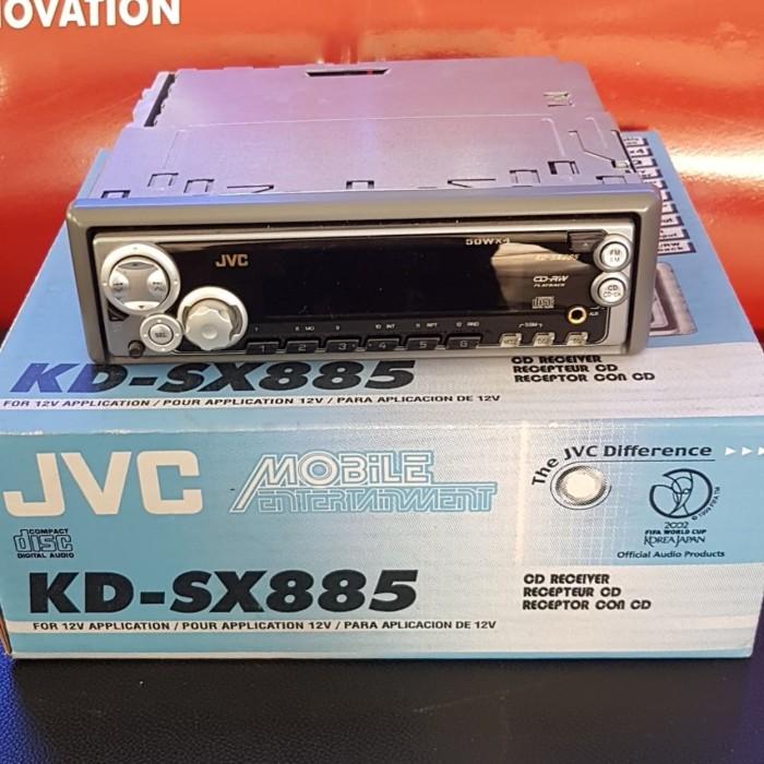 Jual Tape Mobil Cd Mp3 Merk Jvc Seri Kd Sx885 Kab Bogor Car Audio Variasi 88 Tokopedia
