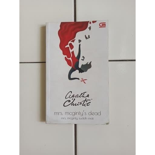 Foto Produk Novel Mrs. Mcginty's Dead (Mrs. Mcginty Sudah Mati) Agatha Christie dari Toko Buku Bekas Aksiku