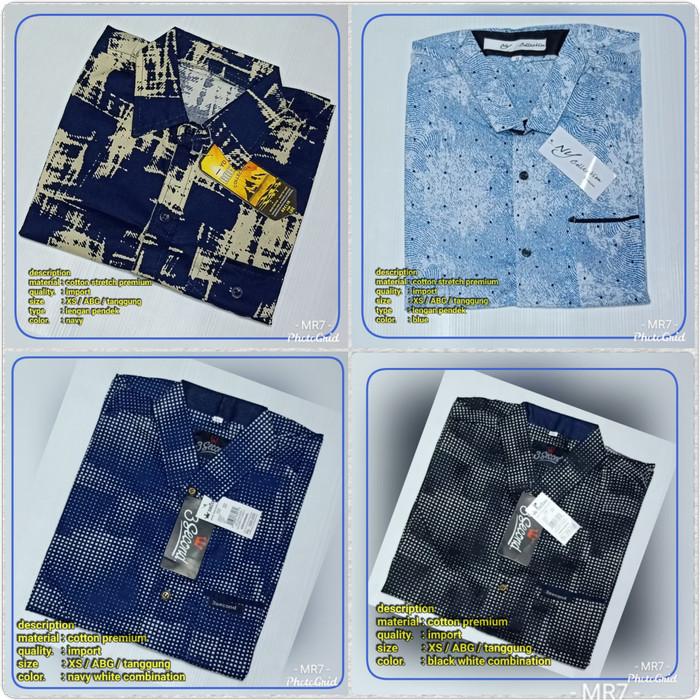 Foto Produk Kemeja Import ABG / tanggung /Kemeja cotton stretch - ABG Tanggung, Cream dari MR Colection Bandung