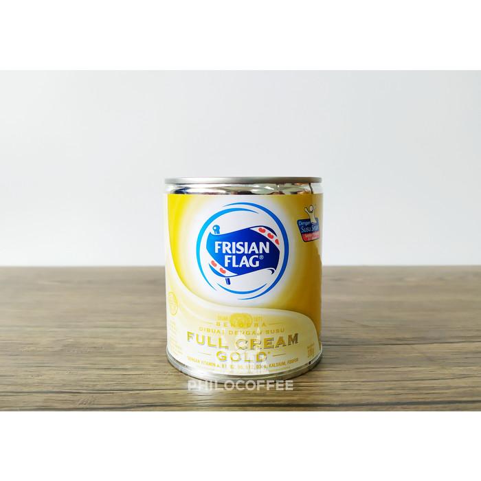 Foto Produk Susu Bendera Full Cream Gold 370g | Frisian Flag Milk | Susu kaleng dari Philocoffee